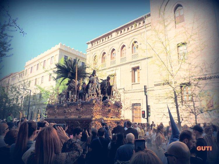 Entrada de Jesús en Jerusalén La Borriquilla Granada