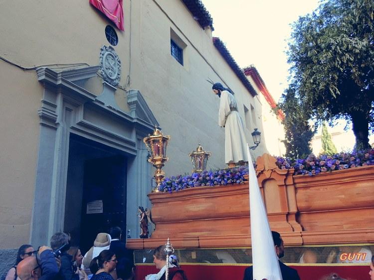Palio de Nuestro Padre Jesús Cautivo Domingo de Ramos Granada