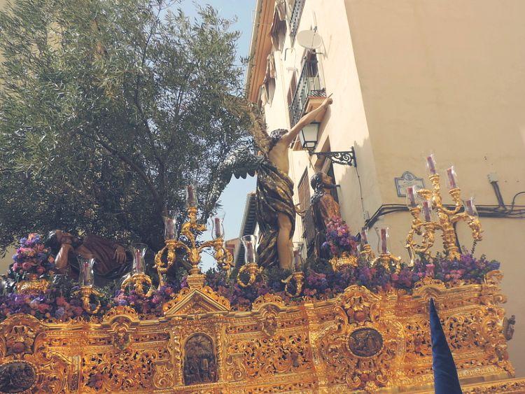 Misterio de la Oración de Nuestro Señor Jesús en el Huerto de los Olivos Lunes Santo Granada