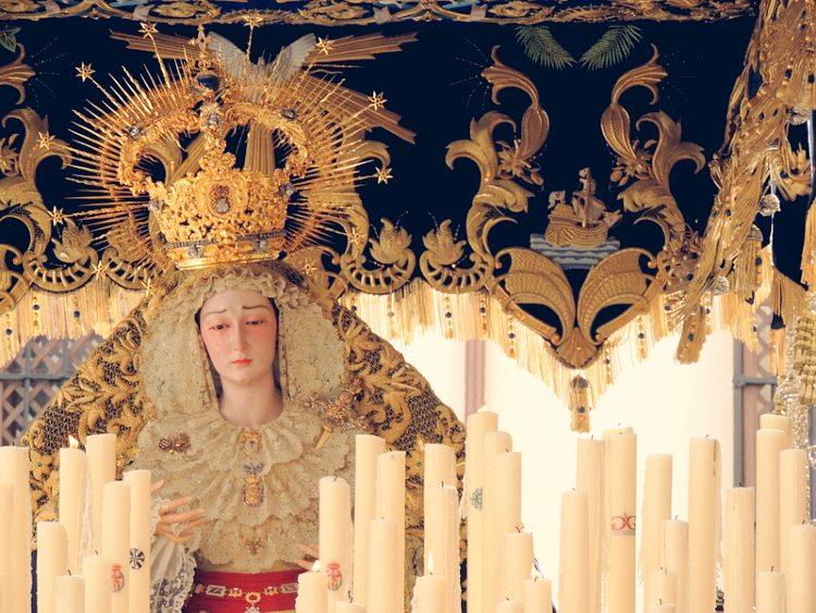 Palio de María Santísima de la Amargura Lunes Santo Granada