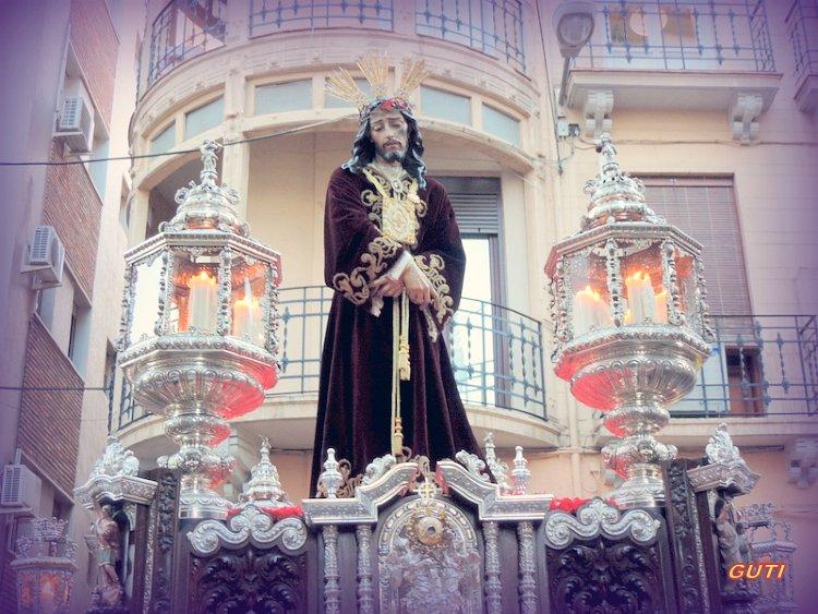 Paso de Nuestro Padre Jesús del Rescate Lunes Santo Granada