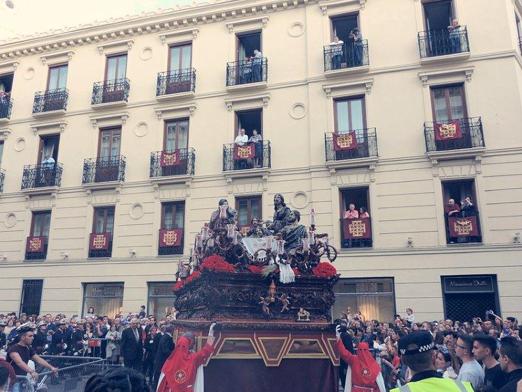 Misterio de la Santa Cena Sacramental Domingo de Ramos Granada