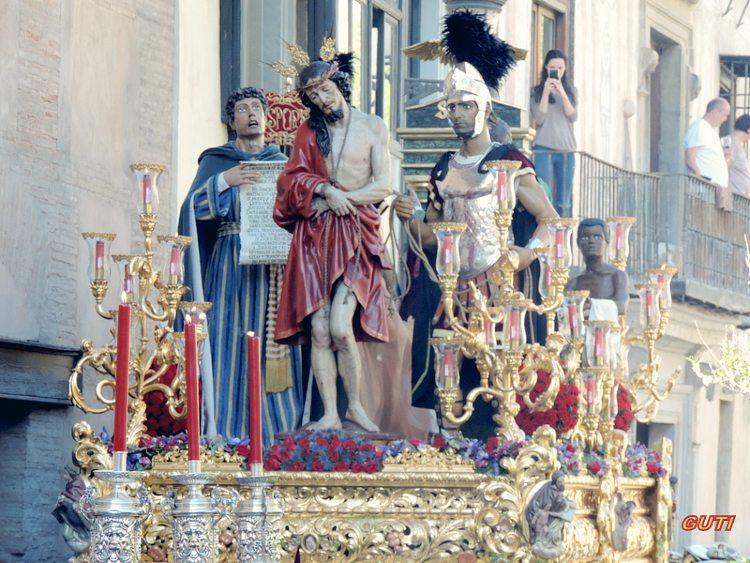 Misterio de Jesús de la Sentencia Domingo de Ramos Granada