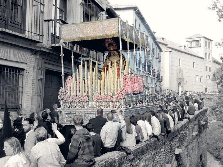 María Santísima de las Maravillas Domingo de Ramos Granada