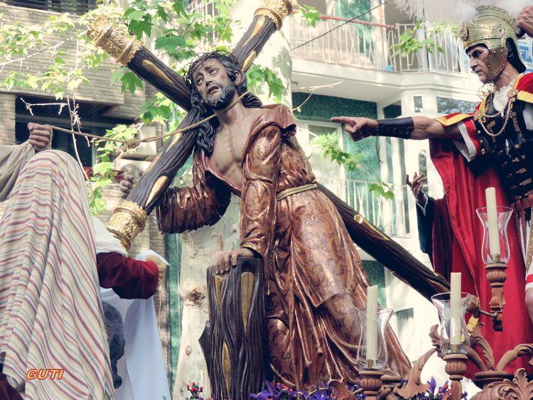 Paso del Santísimo Cristo del Trabajo Lunes Santo Granada