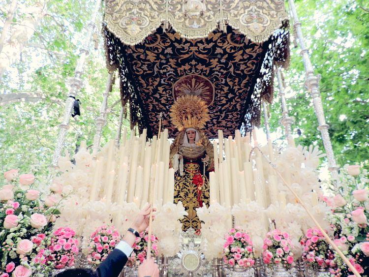 Palio de María Santísima de la Luz Lunes Santo Granada